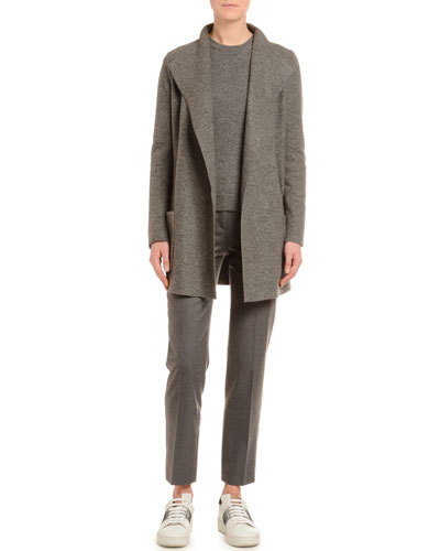 Cashmere Fluid-Jersey Jacket and Matching Items