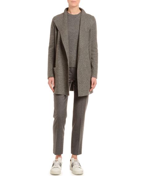 Cashmere Fluid-Jersey Jacket