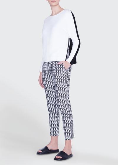 Frankie Soundboard-Pattern Jersey Pants and Matching Items