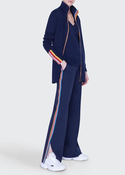 Marla Tuxedo-Striped Jersey pants and Matching Items
