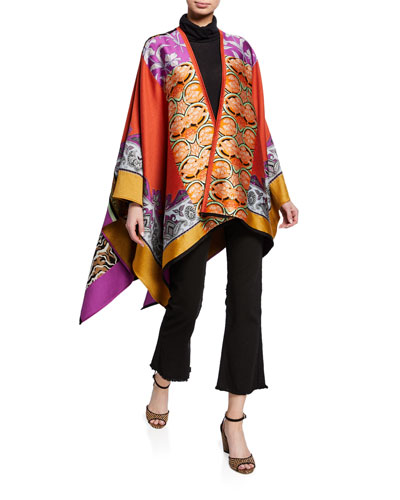 Collage Patchwork Cape and Matching Items