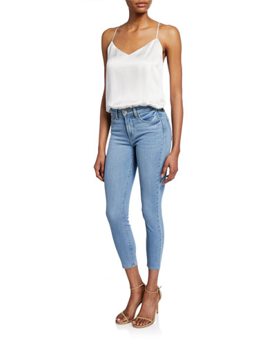 Margot High-Rise Skinny Ankle Jeans and Matching Items