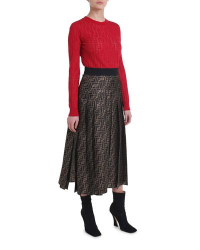 a295d80221d Fendi Clothing : Dresses & Sweaters at Bergdorf Goodman