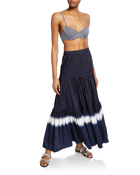 405cbb3b5a Tory Burch Striped Tiered Maxi Skirt and Matching Items