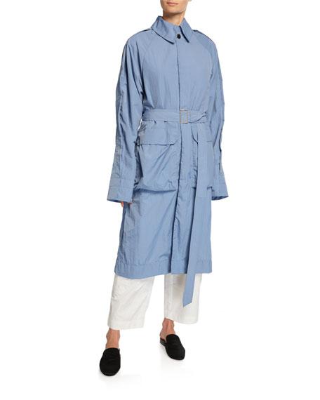 Nylon Utility Coat