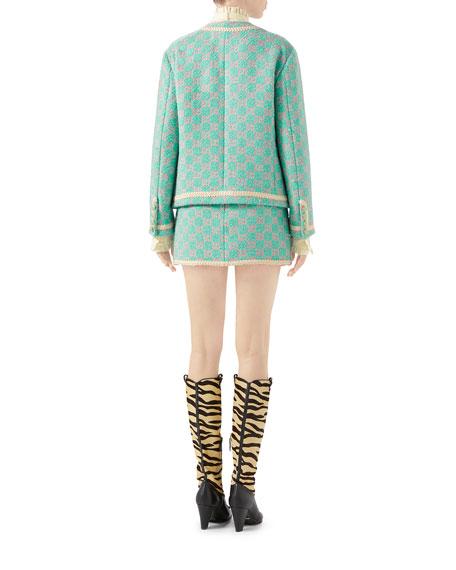 Macro GG Tweed Jacket