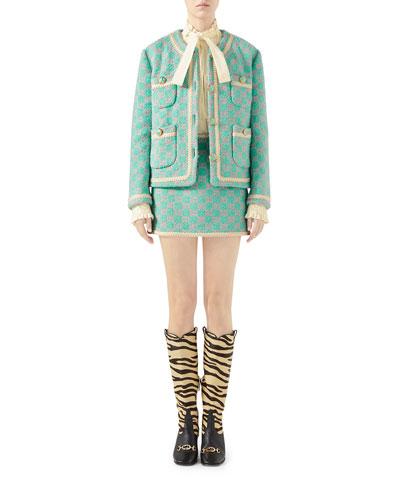 Macro GG Tweed Jacket and Matching Items