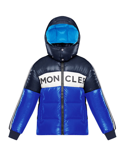Tricolor Logo Hooded Puffer Jacket  Size 4-6 and Matching Items
