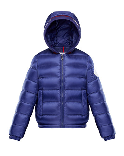 Quilted Logo-Trim Hooded Puffer Jacket  Size 4-6 and Matching Items