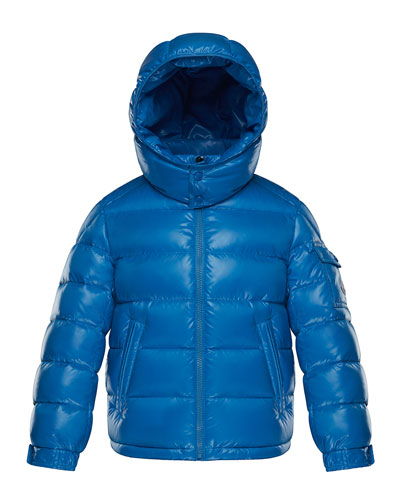 Quilted Hooded Nylon Puffer Jacket  Size 4-6 and Matching Items