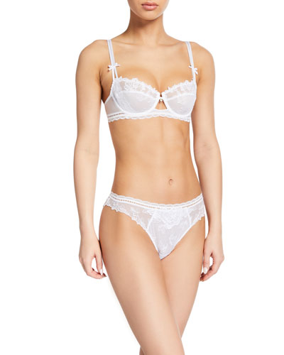 Affinite Couture Demi-Cup Bra and Matching Items