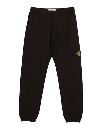 Cotton Sweatpants w/ Reflective Tape Trim  Size 2-6  and Matching Items