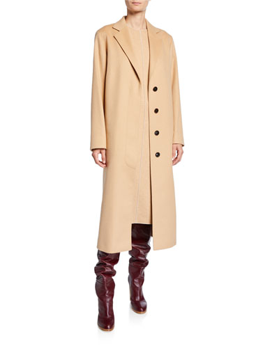 Cashmere Wrap Robe Coat and Matching Items