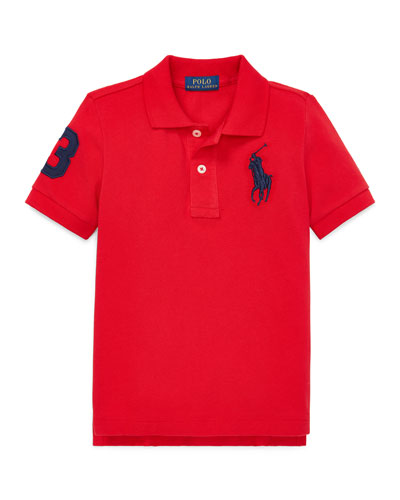 Big Pony Mesh Knit Polo  Size 4-7 and Matching Items