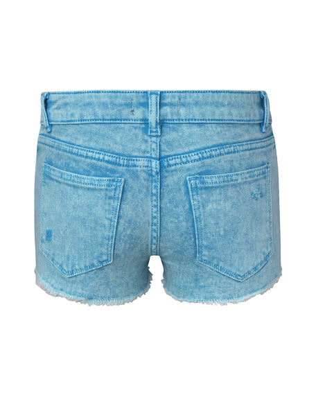 Girls' Lucy Distressed Denim Shorts, Size 2-6