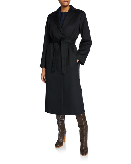 Cashmere Wrapped Robe Coat
