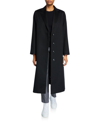 Cashmere Wrapped Robe Coat and Matching Items