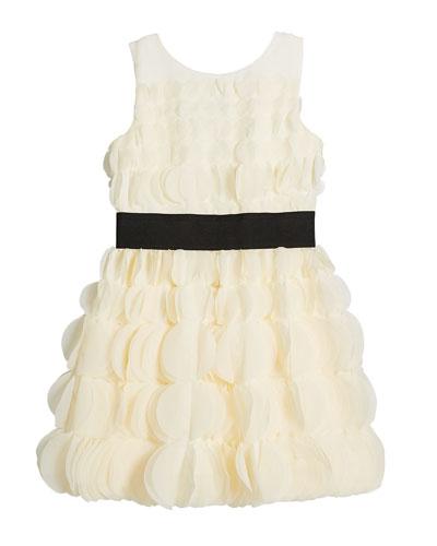 Mariko 3D Circles Chiffon Sleeveless Dress  Size 4-6X  and Matching Items