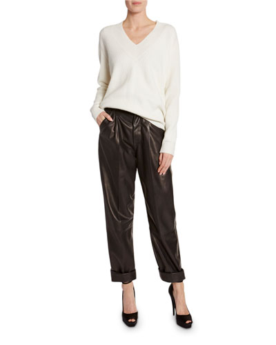 385ed0153f28d Cashmere Large-Ribbed V-Neck Sweater and Matching Items Quick Look. TOM FORD