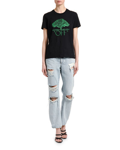 Embroidered Baggy Jeans and Matching Items