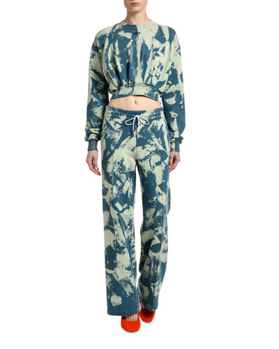 Tie-Dye Track Pants and Matching Items