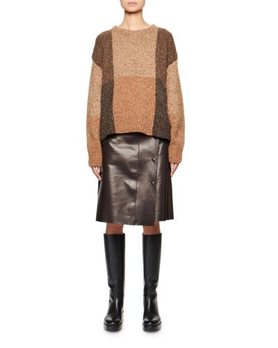 Didion Cashmere-Silk Patchwork Sweater and Matching Items