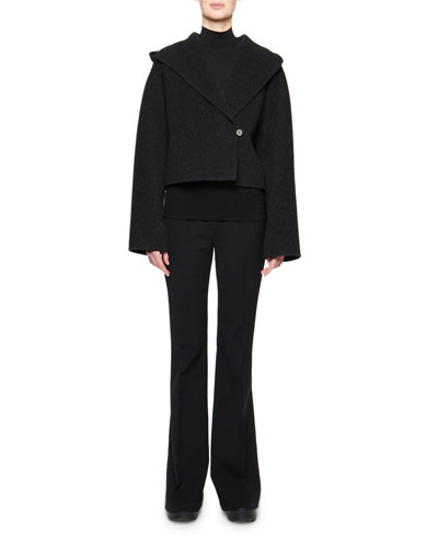 Lilou Hooded Wool Jacket and Matching Items
