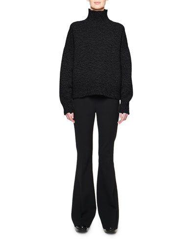 Pheliana Cashmere-Wool Turtleneck Sweater and Matching Items