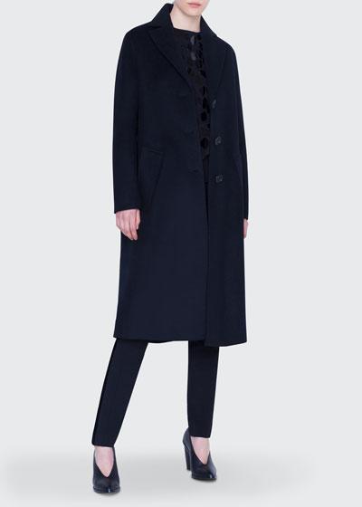 Wool Midi Coat and Matching Items