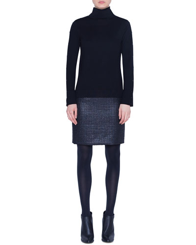Wool Turtleneck Sweater and Matching Items