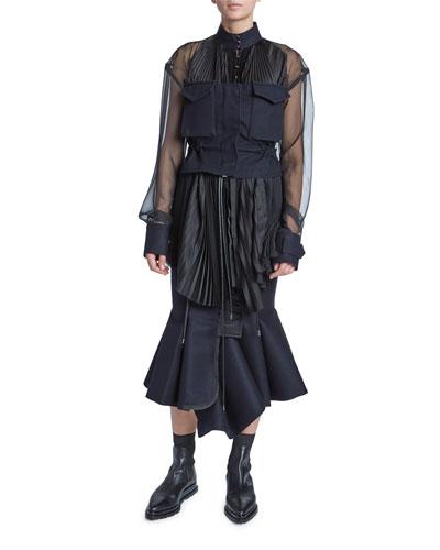 f7bbbed1ac Sacai Clothing : Dresses & Tops at Bergdorf Goodman
