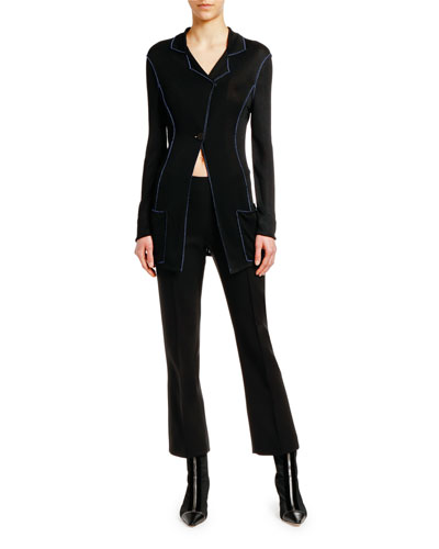 ed57319a9f5ec Asymmetric Long Jacket and Matching Items Quick Look. Giorgio Armani