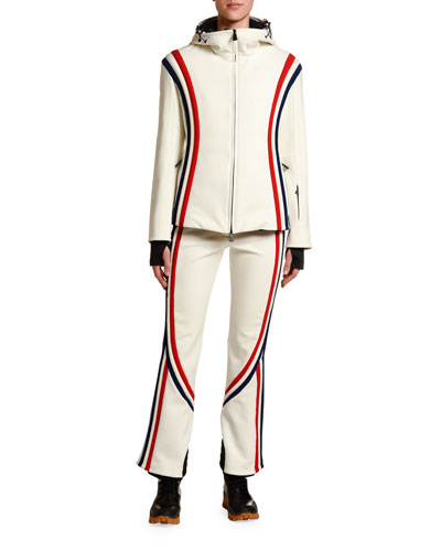 Brenva Tricolor-Trim Jacket and Matching Items