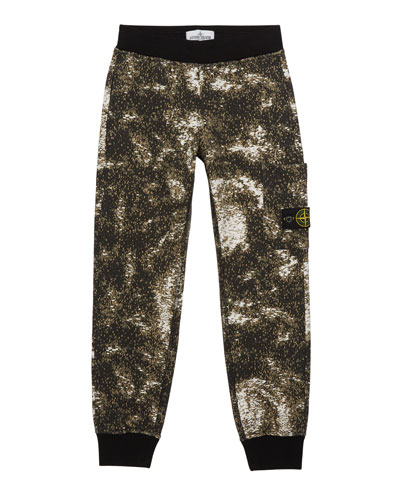 Boy's Digital Space Print Fleece Jogger Pants  Size 2-6  and Matching Items