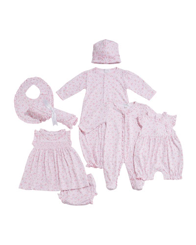 Dusty Rose Pima Dress w/ Matching Bloomers  Size 3-24 Months  and Matching Items