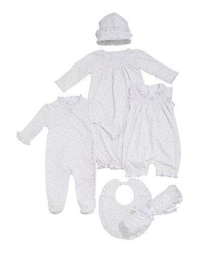 Spring Whispers Ruffle Footie Playsuit  Size Newborn-9 Months  and Matching Items