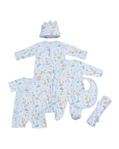Dino Dash Pima Convertible Gown  Size Newborn-S  and Matching Items