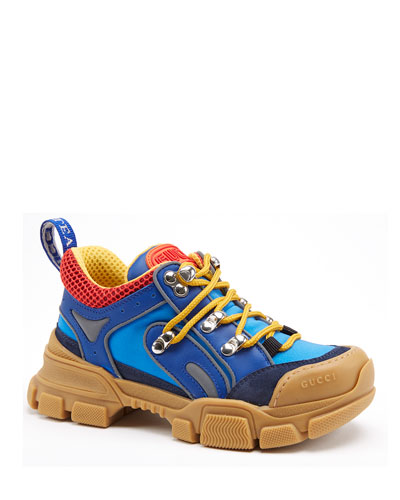 Kid's FlashTrek Leather & Canvas Sneakers  Baby/Toddler   and Matching Items