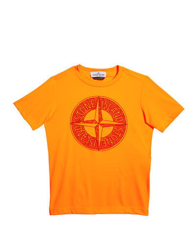 Boy's Compass Screen-Print Logo T-Shirt  Size 2-4 and Matching Items