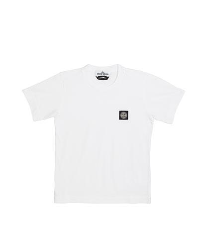 Boy's Logo Patch Short-Sleeve Tee  Size 6-8