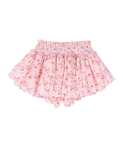 Eloise Floral Print Gathered Skort  Size 4-6 and Matching Items