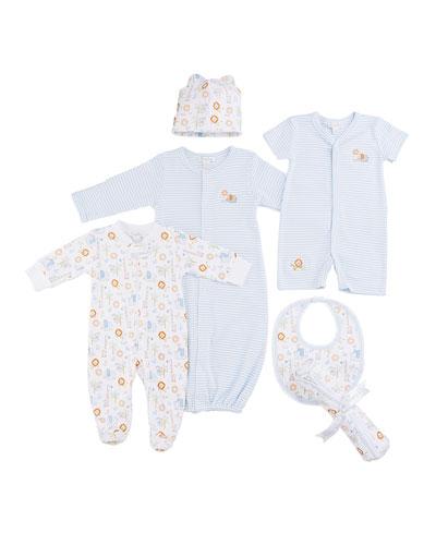 Jungle Joy Stripe Convertible Sleep Gown  Size Newborn-Small and Matching Items