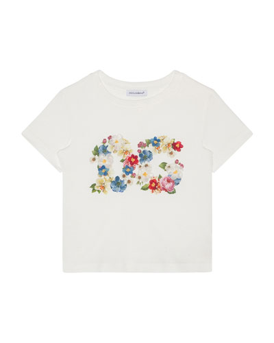 Girl's Blooming Logo Tee  Size 4-6  and Matching Items