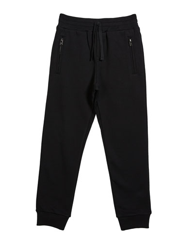 Boy's Zip Pockets Jogger Sweatpants  Size 8-12  and Matching Items