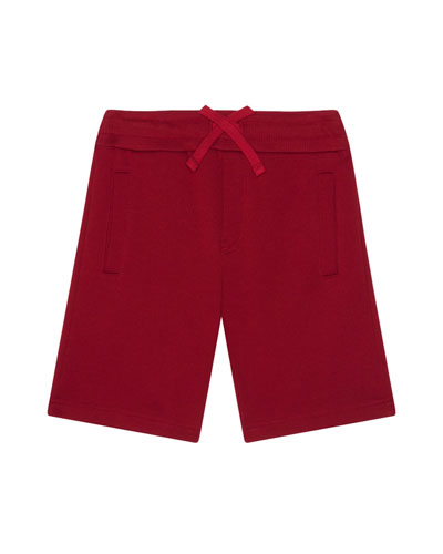 Boy's Jersey Shorts w/ Logo Patch  Size 4-6  and Matching Items