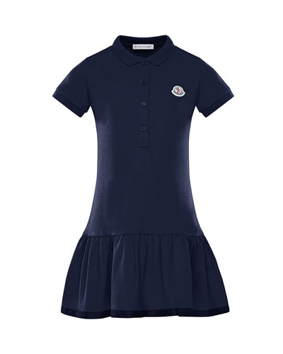 Girl's Piquet Stretch Polo Dress  Size 4-6  and Matching Items