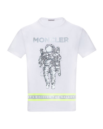Boy's Logo Astronaut Jersey T-Shirt  Size 4-6  and Matching Items