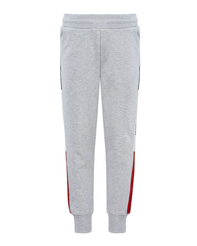 Boy's Logo Tape Sweatpants  Size 4-6  and Matching Items
