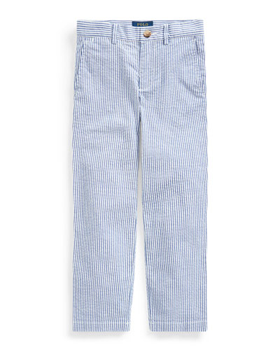 Boy's Striped Seersucker Pants  Size 2-4  and Matching Items