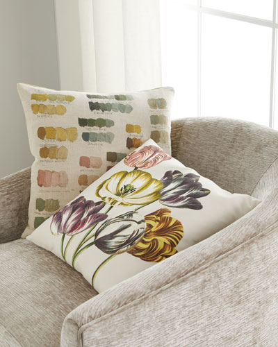 Mixed Tones Fuchsia Pillow  and Matching Items